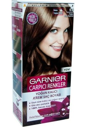 Garnier Çarpıcı Renkler 6/0 - Yoğun Koyu Kumral Saç Boyası