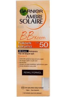 Garnier Ambre Solaire BB Koruyucu Yüz Kremi GKF50 50ML