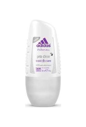 Adidas Action Pro Clear 48 H 50 Ml Kadın Roll On