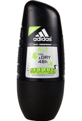 Adidas 6 In 1 Cool Dry Erkek Roll On