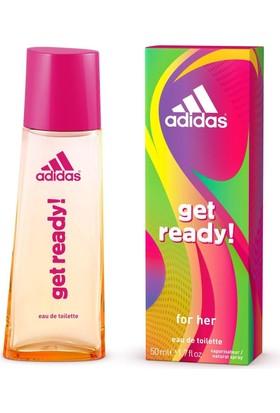 Adidas Get Ready Edt 50 Ml Kadın Parfüm