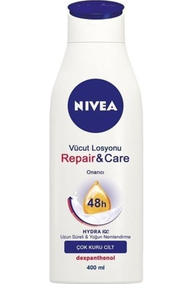 Nivea Body Repair And Care Lotion Yoğun Bakım 400