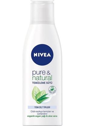 Nivea Visage Pure&Natural Temizleme Sütü