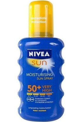 Nivea Sun Moisturizing Sun Spray Spf50 200ml