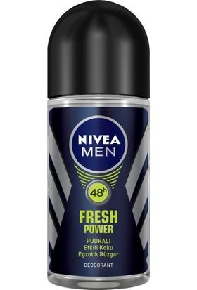 Nivea Fresh Power Roll-On 50Ml Erkek