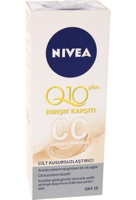 Nivea Q10 Kırışıklık Karşıtı CC Krem