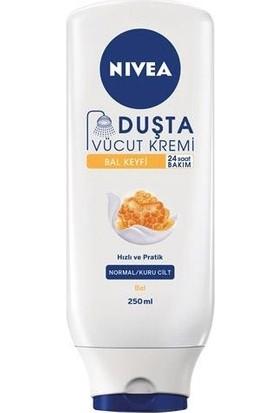 Nivea Duşta Vücut Kremi Honey & Milk 250ML