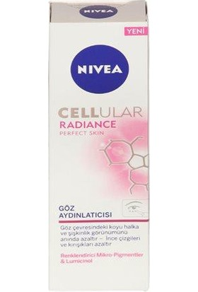 Nivea Visage Cellular Perfect Skin Göz Çevresi Kremi 15 Ml