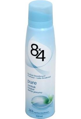 8X4 Pure Sprey 150Ml Kadın