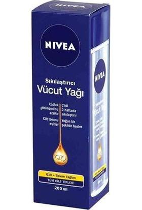 Nivea Q10 Sıkılaştırıcı Vücut Yağı 200Ml