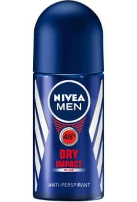 Nivea Men Erkek Deo Roll-On Dry Impact 50 Ml