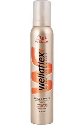 Wella Wellaflex Şekillendirici Saç Köpüğü Kıvırcık ve Dalgalı Saçlar 200 ml