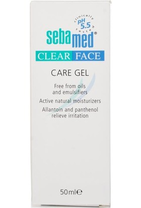 Sebamed Clear Face Bakım Jeli 50 Ml