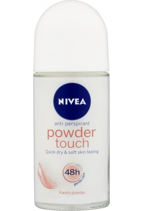 Nivea Powder Touch Roll-On Deodorant 50Ml Kadın