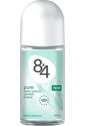 8X4 Pure Roll-On 50Ml Kadın