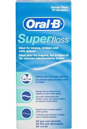 Oral-B Diş İpi Super Floss 50 Adet