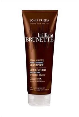 John Frieda Brilliant Brunette Multi Tüm Kahve Tonlardaki Saçlara Özel Nemlendirici Bakım Kremi 250 ml