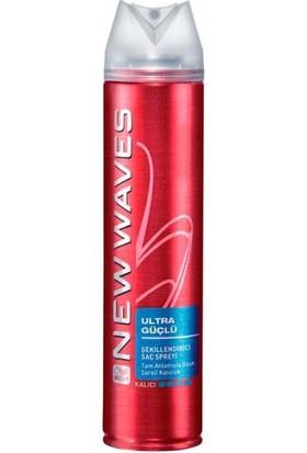 Wella New Wave Ultra Güçlü Şekillendirici Saç Spreyi 250 Ml