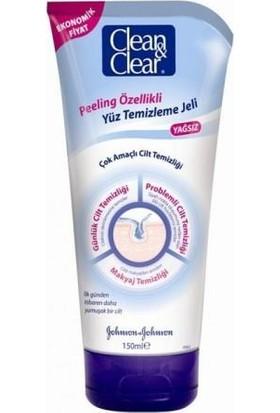 Clean&Clear Peeling Özellikli Arındırıcı Yüz Temizleme Jeli 150 Ml