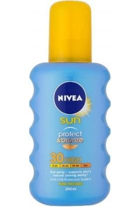 Nivea Sun Protect&Bronze Güneş Spreyi Spf 30 200 Ml