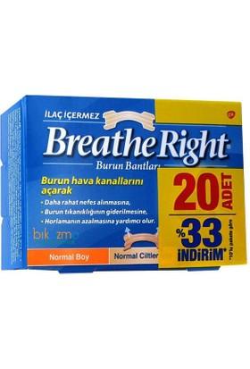 Breathe Right Burun Bandı Normal Boy 20 Adet