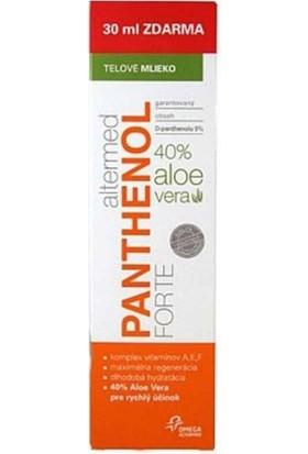 Altermed Panthenol Forte Aleo Veralı Vücut Sütü 40