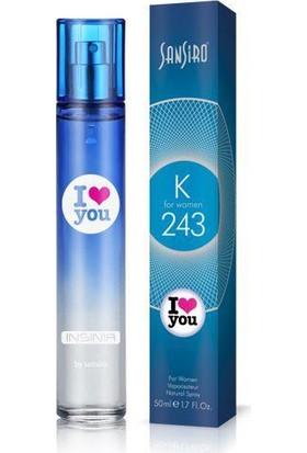Sansiro 50 ML Parfüm Bayan No.K243 Ferah