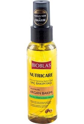 Bioblas Nutricare Argan Bakımı 100 Ml - Saç Bakım Yağı