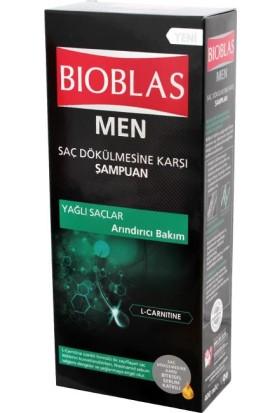 Bioblas Men Şampuan Yağlı Saçları Arındırıcı Bakım 400 Ml