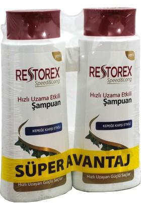 Restorex Şampuan Kepeğe Karşı Etkili 650 Ml X 2 Adet