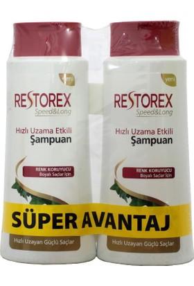 Restorex Şampuan Boyalı Saçlar İçin 650 Ml + 650 Ml