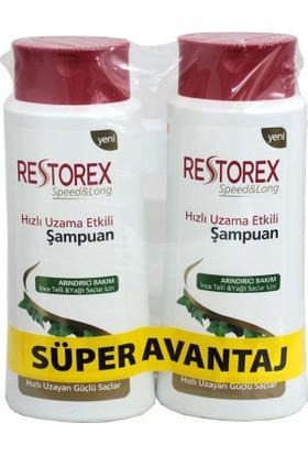 Restorex Şampuan İnce Telli Ve Yağlı 650 Ml 2 Li