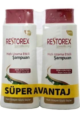 Restorex Saç Kremi Uzatma Etkili Boyalı Saçlar İçin 350 Ml+350 Ml