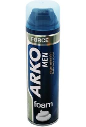 Arko Men Tıraş Köpüğü Force 200 Ml