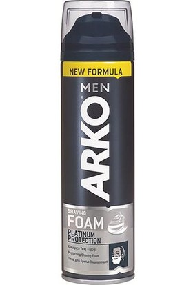 Arko Men Tıraş Köpüğü Platinum 200 Ml