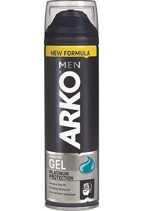 Arko Men Tıraş Jeli Platinum 200 Ml