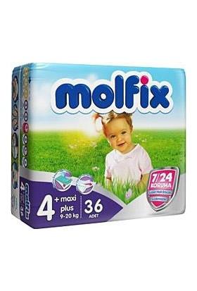 Molfix Bebek Bezi Comfort Fix İkiz Paket 4+ Beden 26 Adet