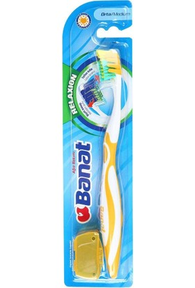 Banat Relaxion Medium/Orta Diş Fırçası
