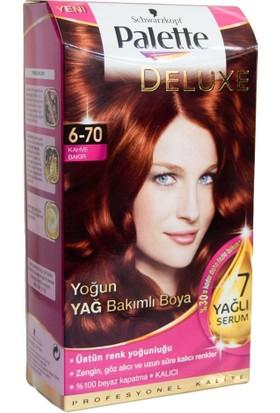 Palette Deluxe 6-70 Kahve Bakır