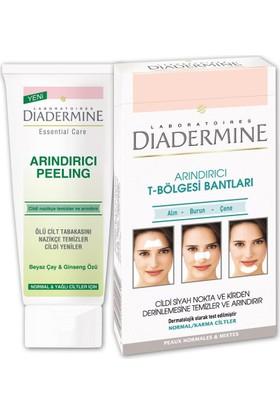 Diadermine T Bölgesi Bant + Arındırıcı Peeling