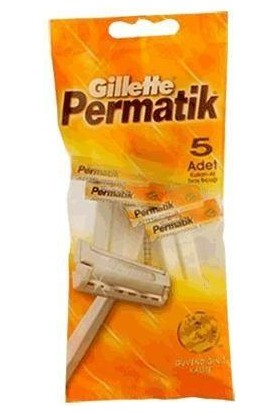 Gillette Permatik 1 5'Li Poşet
