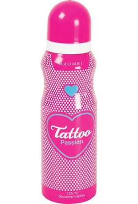 Tattoo Deodorant 125 Ml Passion