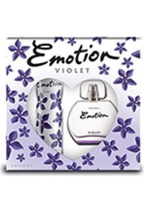 Emotion Violet Edt 50 Ml +Deodorant Set