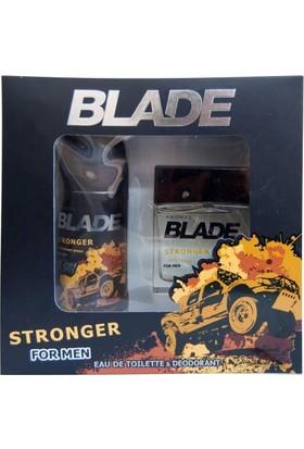 Blade Stronger Edt 100 Ml + Deodorant 150 Ml