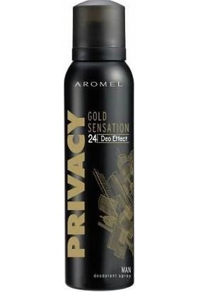 Privacy Gold 150 Ml Erkek Deodorant