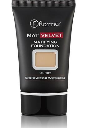 Flormar Mat Velvet Matlaştırıcı Fondöten V204