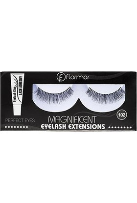 Flormar Magnificient Eyelash Extensions Takma Kirpik 102