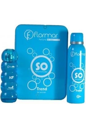 Flormar So Edp + Deodorant