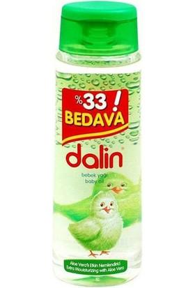 Dalin Bebe Yağı Aloe Veralı / 300 ml