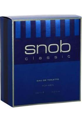 Snob Classic Edt 100 Ml Erkek Parfümü